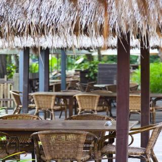 Siloso Beach Resort - Restaurant