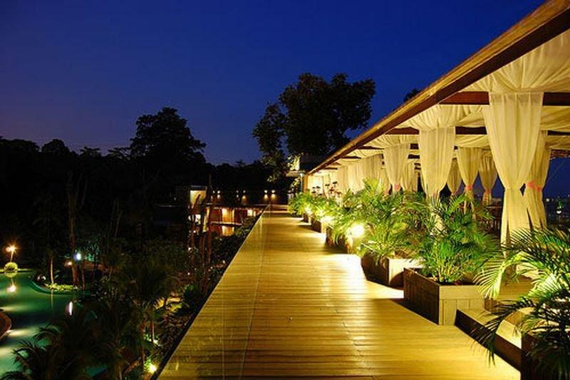 Siloso Beach Resort - Terrasse
