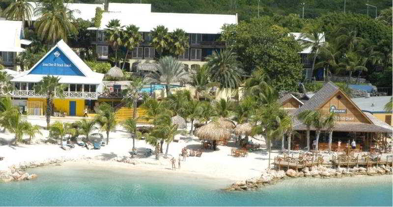 Lions dive beach resort curacao willemstand curacao - Sanom beach dive resort ...