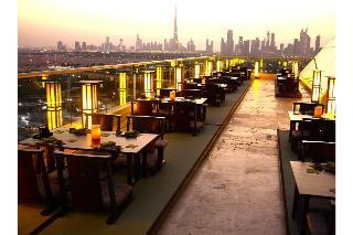 Raffles Dubai - Terrasse