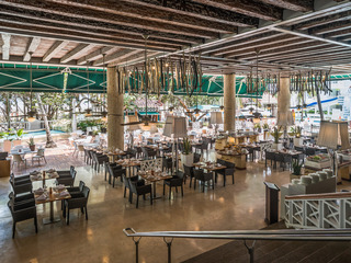 Las Américas Casa de Playa - Restaurant