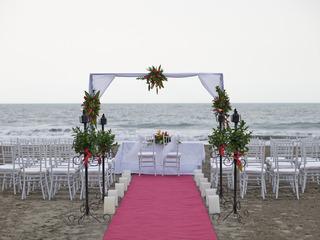 Las Américas Casa de Playa - Terrasse