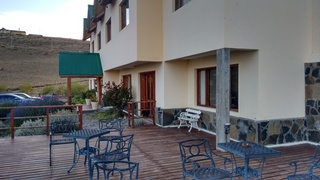 Hosteria Meulen - Terrasse