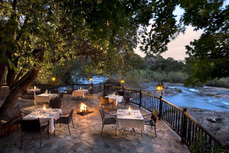 Kruger Park Lodge - Terrasse