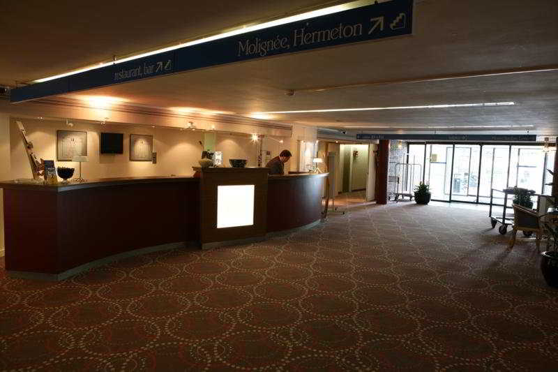 Hampton's Hotel Namur - Diele