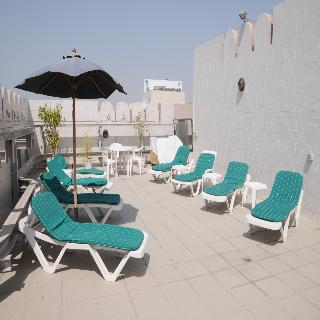 Pearl Residence Hotel Apartments - Terrasse