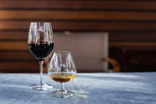 Vineyard Hotel - Terrasse