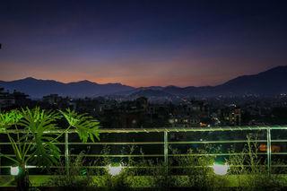 Hotel Manang - Terrasse