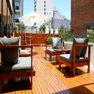 Azur Real Hotel Boutique - Terrasse