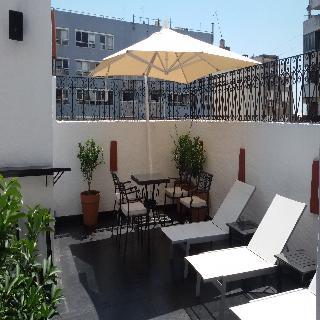 Melia Recoleta Plaza - Terrasse
