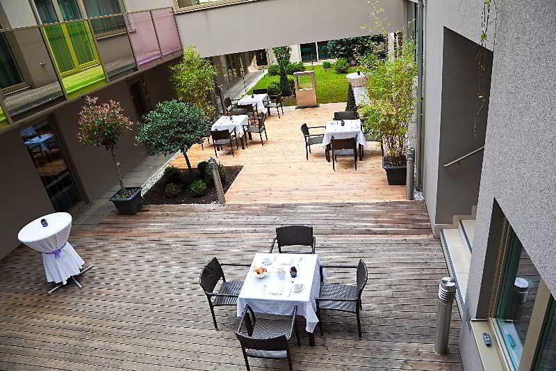 Pakat Suites Hotel - Terrasse