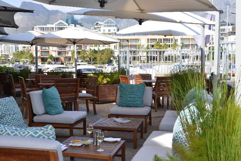 Cape Grace Hotel - Terrasse