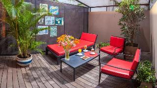 Be Hollywood Hotel Boutique - Terrasse
