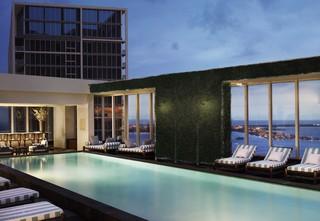 W Miami Hotel, 485 Brickell Avenue,