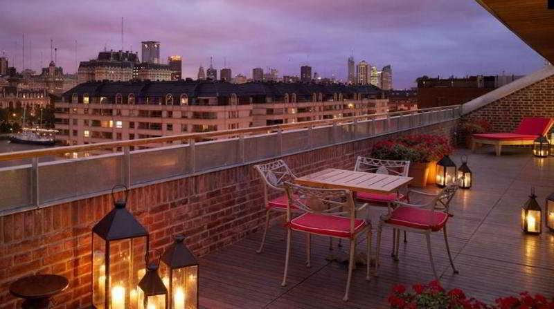 Faena Hotel Buenos Aires - Terrasse