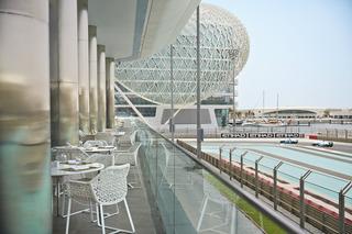 Yas Hotel Abu Dhabi - Terrasse