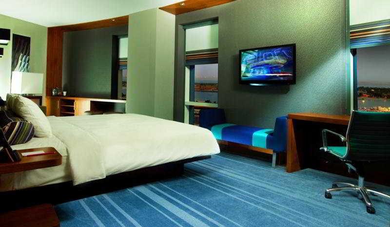 Aloft Abu Dhabi - Zimmer
