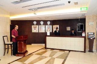 Dunes Hotel Apartment Barsha - Diele
