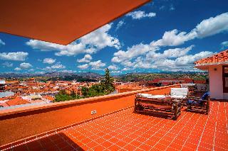 Villa Antigua Hotel - Terrasse