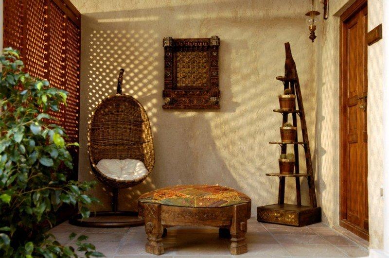 Orient Guest House Dubai - Terrasse