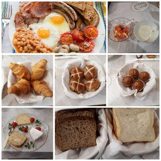 La Boheme Bed and Breakfast - Restaurant