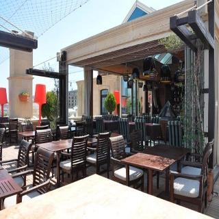 Sultan Inn Boutique - Terrasse