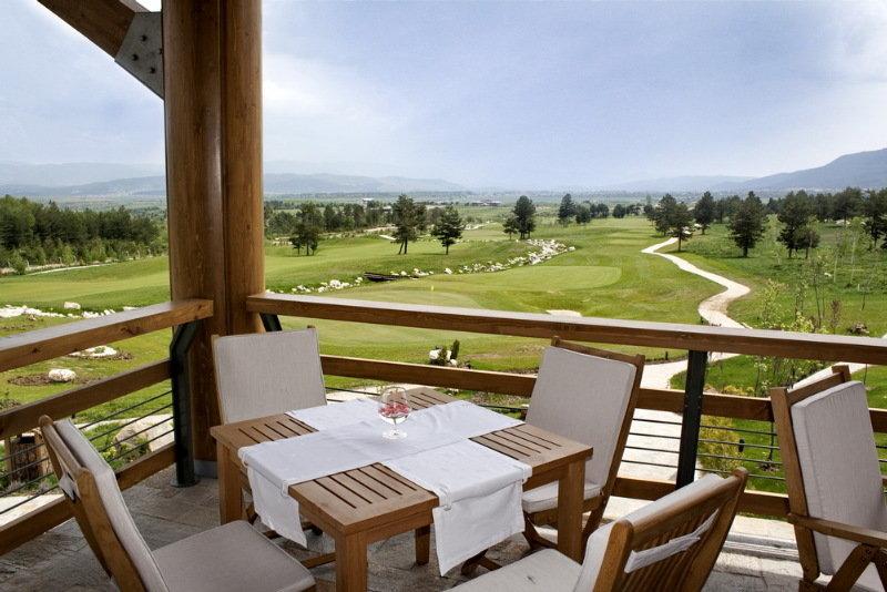 Pirin Golf Holiday apartments - Terrasse