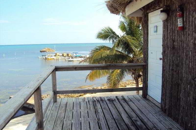 Exotic Caye Beach Resort - Terrasse