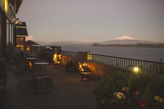 Cabaña del Lago - Terrasse