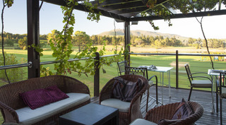 Devonvale Golf Estate Wine and Spa Lodge - Terrasse