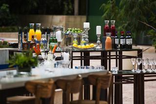 Santiago Marriott Hotel - Terrasse