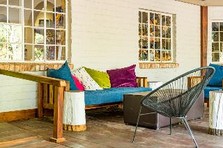 Damara Mopane Lodge - Terrasse