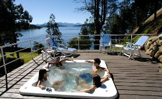 Charming Luxury Lodge & Private Spa - Terrasse