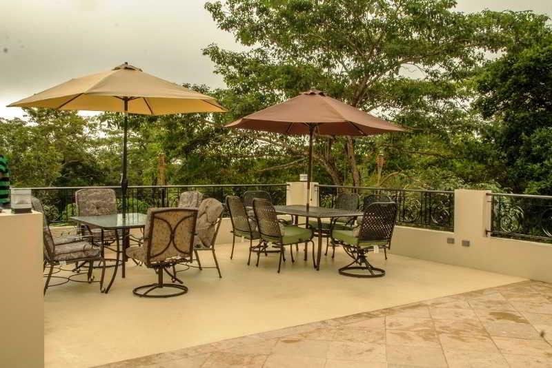 Black Orchid Resort - Terrasse
