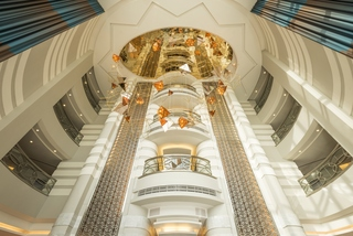 Sheraton Dubai Mall of the Emirates Hotel - Diele