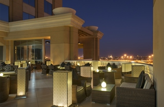 Sheraton Dubai Mall of the Emirates Hotel - Terrasse