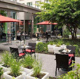 Park Inn by Radisson Brussels Midi - Terrasse