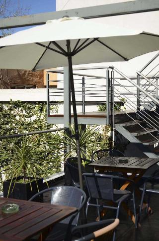 Abril Hotel Boutique - Terrasse