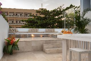 Delirio Hotel - Terrasse