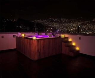 Tryp Medellin Hotel - Terrasse