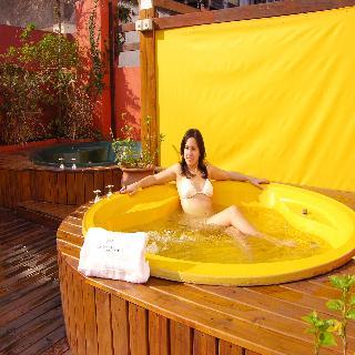 Sarmiento Palace Hotel - Terrasse