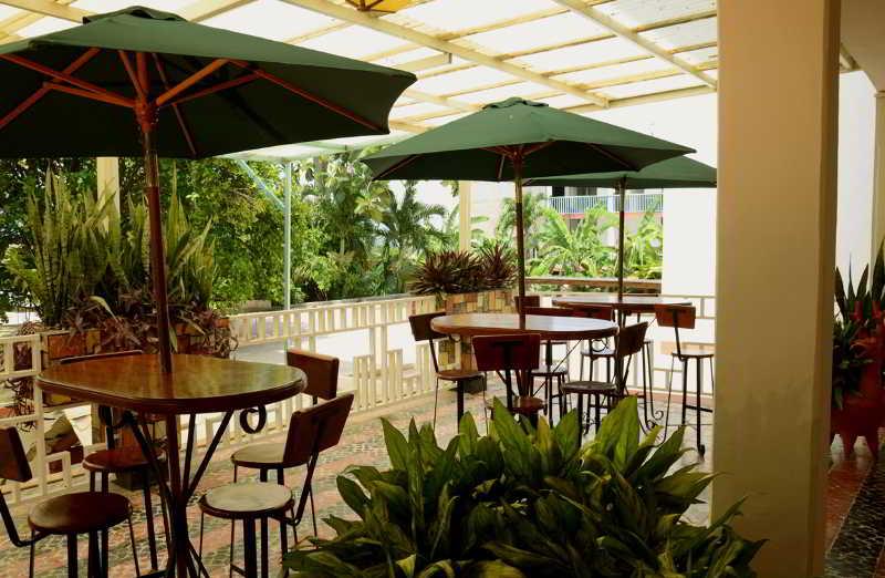 Hotel Palenque - Terrasse