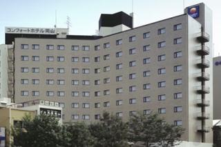 Comfort Hotel Okayama, Marunouchi,1-1-13