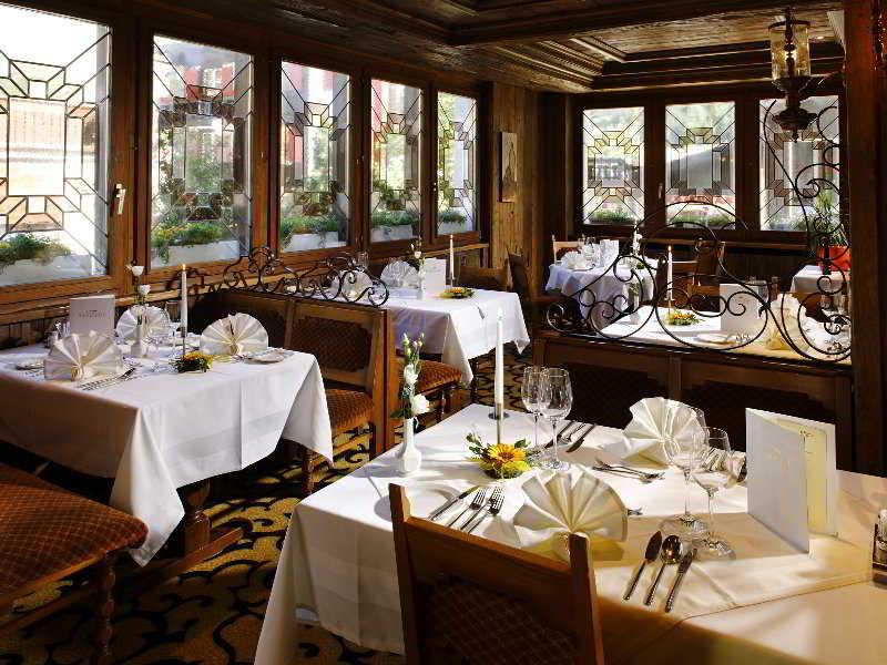 Golfhotel Saaserhof - Restaurant