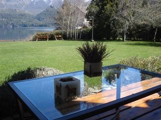 Lago Gutierrez Lodge - Terrasse