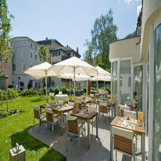 Sorell Hotel Tamina - Terrasse