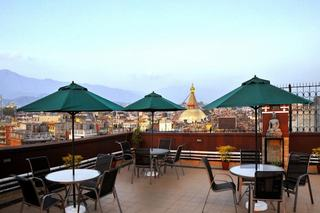 Hotel Tibet International - Terrasse
