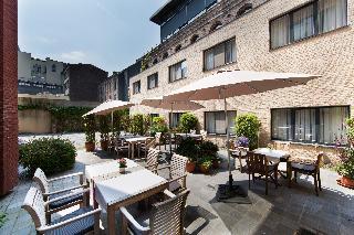 Ghent River Hotel - Terrasse