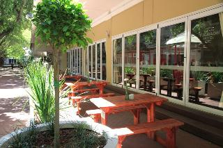 The New Tulbagh Hotel - Terrasse