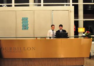 Gran Hotel Tourbillon - Diele